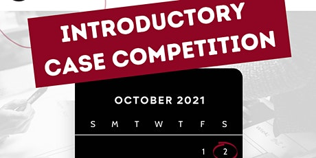 Introductory Case Competition tickets
