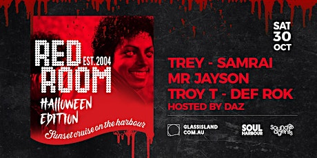 Glass Island - Red Room Halloween Edition - Sat 30th October tickets