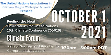 Feeling the Heat - Expectations for UN 26th Climate Conference (COP26) billets