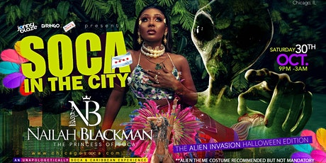SOCA IN THE CITY: fea. NAILAH BLACKMAN tickets