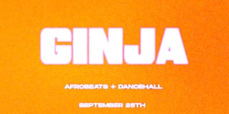 GINJA: Afrobeats + Dancehall Night at Café Erzulie tickets