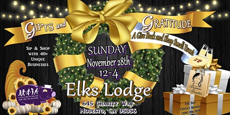 Gifts and Gratitude: A Give Back and Shop Small Event tickets