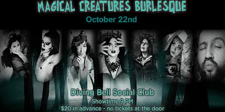 Magical Creatures Burlesque tickets