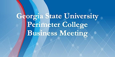 Perimeter College Business Meeting tickets