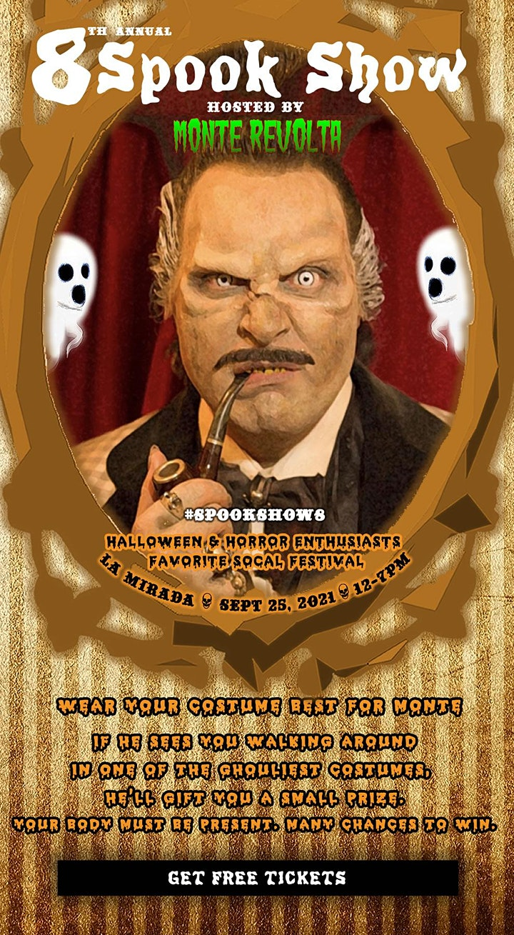 8th Annual Spook Show by Halloween Club #SpookShow8 image