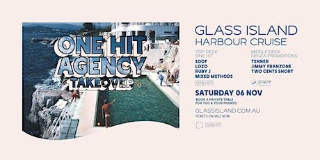 Glass Island - One Hit Agency Takeover - Saturday 6th November tickets