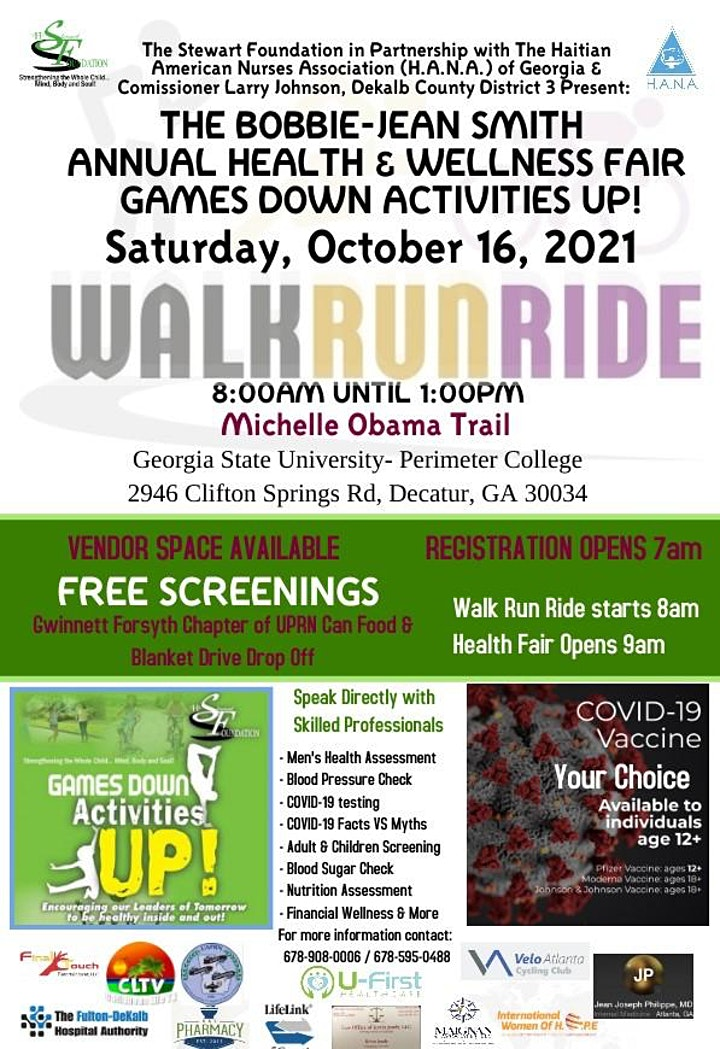 Annual Games Down, Activities Up, Health & Wellness Fair image