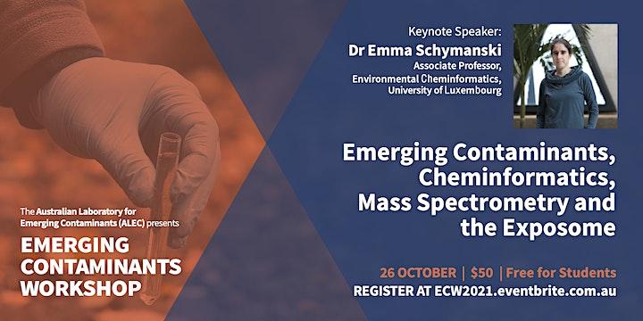 Emerging Contaminants Workshop 2021 image