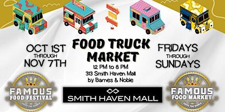 Famous Food Truck Market - Smith Haven Mall - Long Island, NY tickets