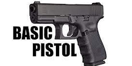 Basic Pistol Class tickets