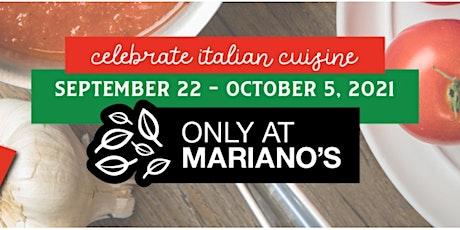 Taste of Italy at Mariano's-Lombard! tickets