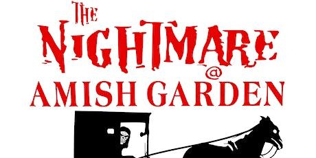 Nightmare at Amish Gardens tickets