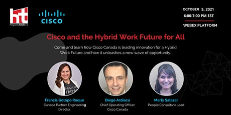 Cisco and the Hybrid Work Future for All tickets