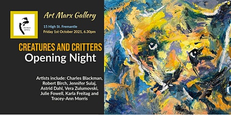 Art Marx Gallery Exhibition - Creatures and Critters tickets