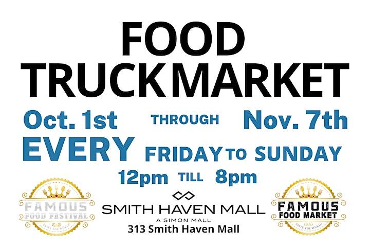 Famous Food Truck Market - Smith Haven Mall - Long Island, NY image