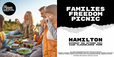 #FreedomsNZ - Hamilton stand tickets