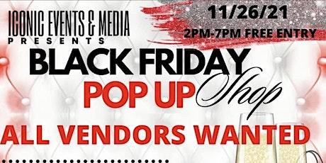 BLACK FRIDAY POP UP SHOP tickets
