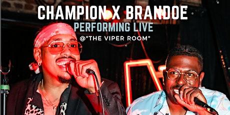 Bobby Champion X Marlin Brandoe Performing Live tickets