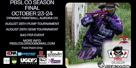 PBSL Colorado Season 1 Final (Rescheduled) tickets