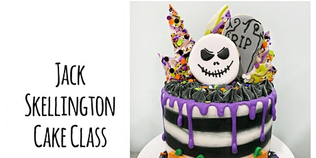 Cake Decorating:Jack Skellington Drip Cake Class at Fran's Cake & Candy tickets