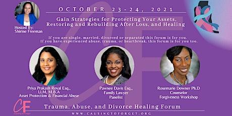 #wegoingthere October is Women's Healing Month- We tickets