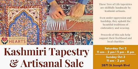 Kashmiri Tapestry & Artisanal Sale tickets