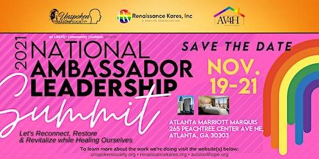 2021 National Ambassador Leadership Summit tickets