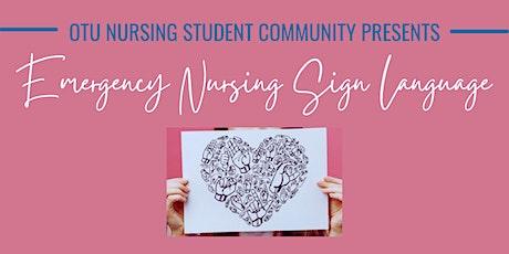 Sign Language For Nursing Students Live Seminar tickets