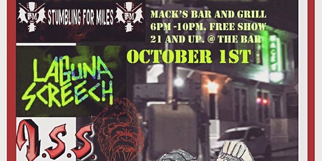 Punk rock night @ Mack's bar and grill tickets