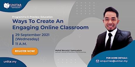 UNITAR: Education Programme E-Preview Tickets