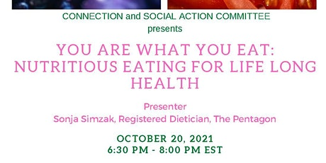You Are What You Eat: Nutritious Eating For Life Long Health tickets