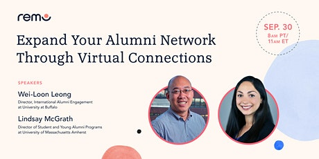 Expand Your Alumni Network Through Virtual Connections tickets