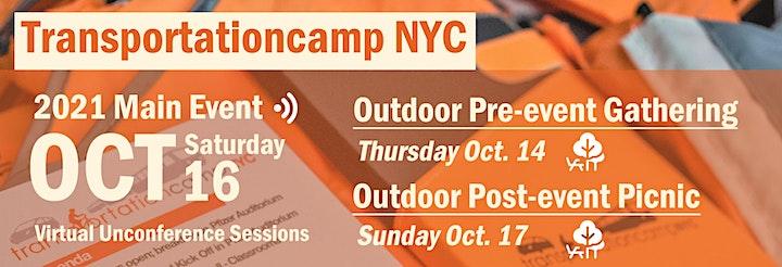 TransportationCamp NYC 2021 (Hybrid) image