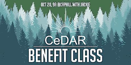 Benefit Yoga Flow for  CeDAR at Black Swan Yoga! tickets