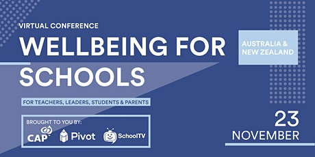 Wellbeing for Schools Webinar tickets