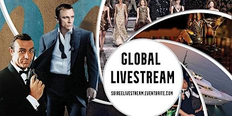 10th Annual James Bond Soiree - Global Livestream tickets