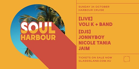 Glass Island pres. Soul Harbour - Sun 24th October tickets
