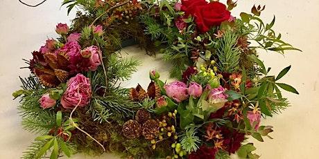 Flower wreath workshop tickets