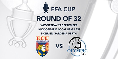 FFA Cup Round of 32   ECU Joondalup v Adelaide Olympic tickets