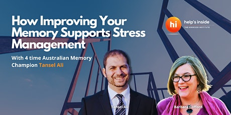 How Improving Your Memory Supports Stress Management tickets