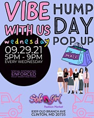 Vibe With Us Wednesday: A Hump Day Pop Up tickets