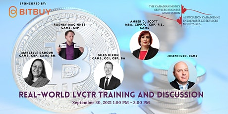 Real-world LVCTR Training and discussion tickets