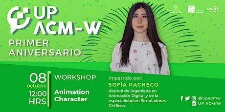 Animatión Character tickets