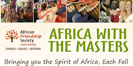 Africa with the Masters Festival tickets