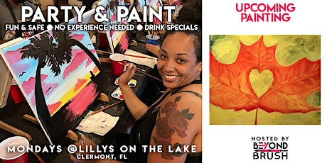 Sip & Paint Night Party - Fall in Love with Autumn tickets
