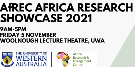 AfREC Annual Africa Research Showcase 2021 tickets