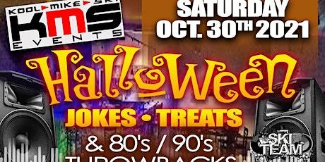 HALLOWEEN JOKES, TREATS & THROWBACKS * LAUGHS R US COMEDY NIGHT & PARTY tickets