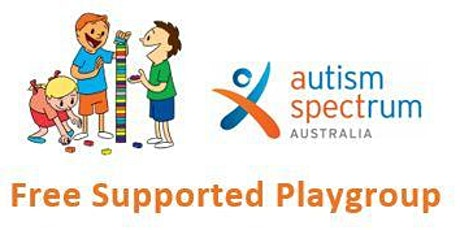 Supported Playgroup with Autism Spectrum Australia tickets