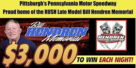 BILL HENDREN MEMORIAL #1  RUSH Dirt Late Model Series , $3,000 to win! tickets