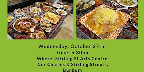 BUNBURY MULTICULTURAL GROUP - DINE WITH ME 27th Oct21 tickets